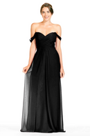 Bari Jay Bridesmaid Dress 1803 - Black