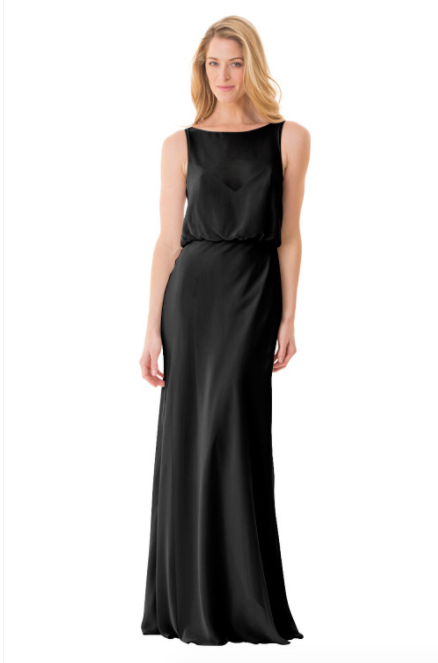 Bari Jay Bridesmaid Dress - 1661-Black