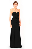 Bari Jay Bridesmaid Dress 1955 - Black