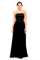 Bari Jay Bridesmaid Dress 1975 - Black