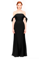 Bari Jay Bridesmaid Dress 1974 - Black