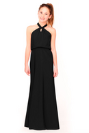 Bari Jay Junior Bridesmaid Dress 1954 -Black