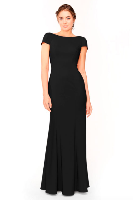 Bari Jay Bridesmaid Dress 1953 - Black