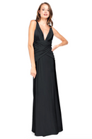 Bari Jay Bridesmaid Dress 2001 -Black
