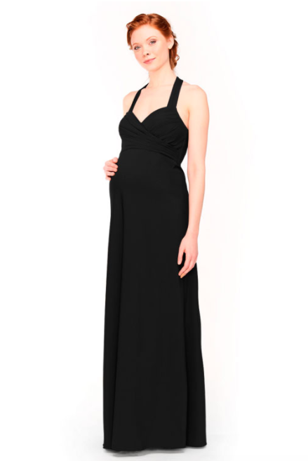Bari Jay Maternity Bridesmaid Dress 1958 -Black