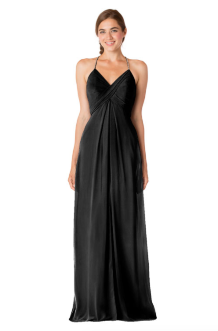 Bari Jay Bridesmaid Dress - 1723 BC-Black