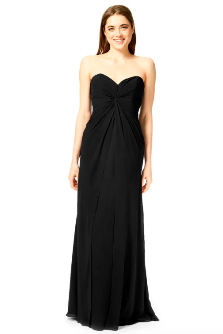Bari Jay Bridesmaid Dress 1870 -Black
