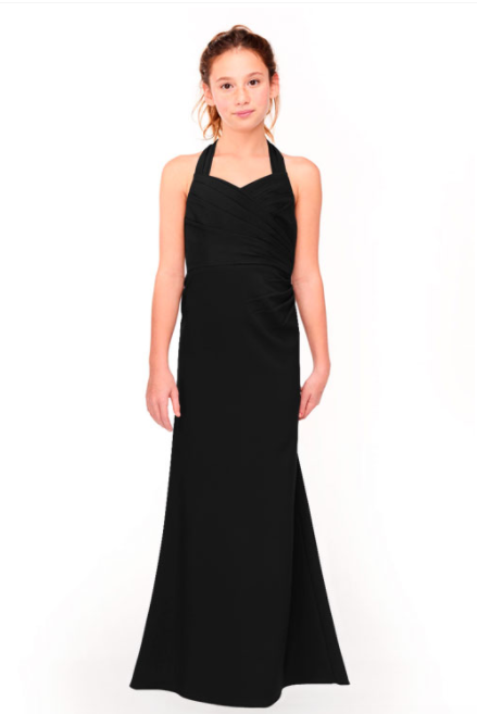 Bari Jay Junior Bridesmaid Dress 1958 - Black