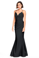 Bari Jay Bridesmaid Dress 2000 -Black