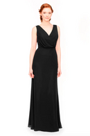 Bari Jay Bridesmaid Dress 1970 -Black