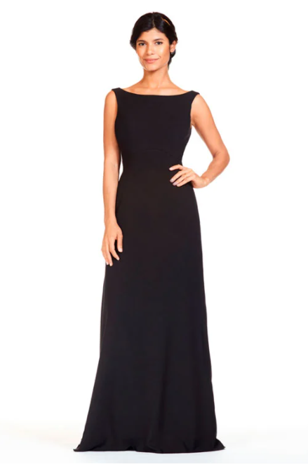 Bari Jay Bridesmaid Dress 1818 -Black