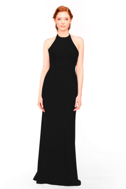 Bari Jay Bridesmaid Dress 1961 - Black