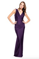 Bari Jay Bridesmaid Dress - 2006 Black Berry