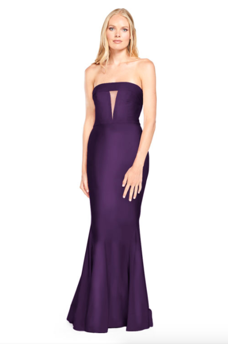 Bari Jay Bridesmaid Dress - 2008 Blackberry