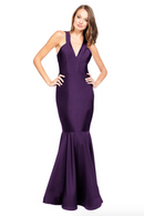 Bari Jay Bridesmaid Dress - 2009 Blackberry