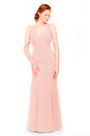 Bari Jay Bridesmaid Dress 1972 - Blush