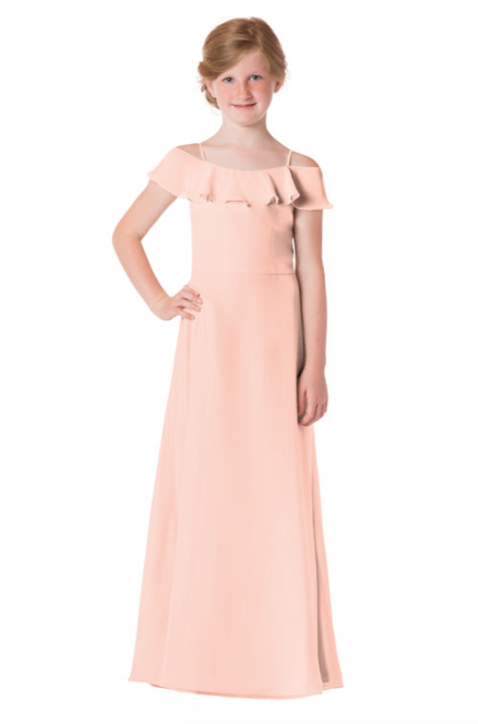 Bari Jay Junior Bridesmaid Dress - 1730(JR)-Blush
