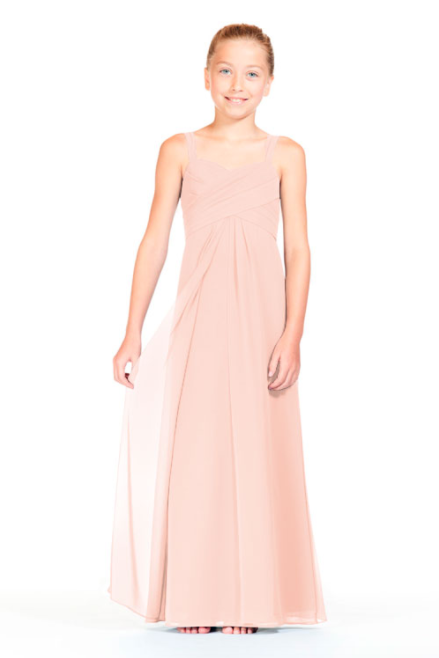 Bari Jay Junior Bridesmaid Dress 1803 (JR)-Blush