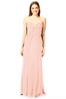 Bari Jay Bridesmaid Dress 1870 -Blush