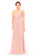 Bari Jay Bridesmaid Dress 1962 -Blush