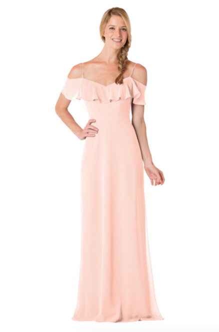 Bari Jay Bridesmaid Dress - 1730-Blush