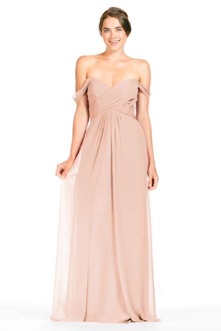 Bari Jay Bridesmaid Dress 1803 - Blush