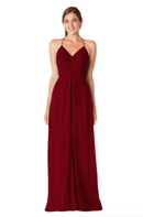 Bari Jay Bridesmaid Dress - 1723 IC-Bordeaux