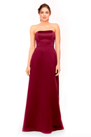 Bari Jay Bridesmaid Dress 1975 - Boysenberry