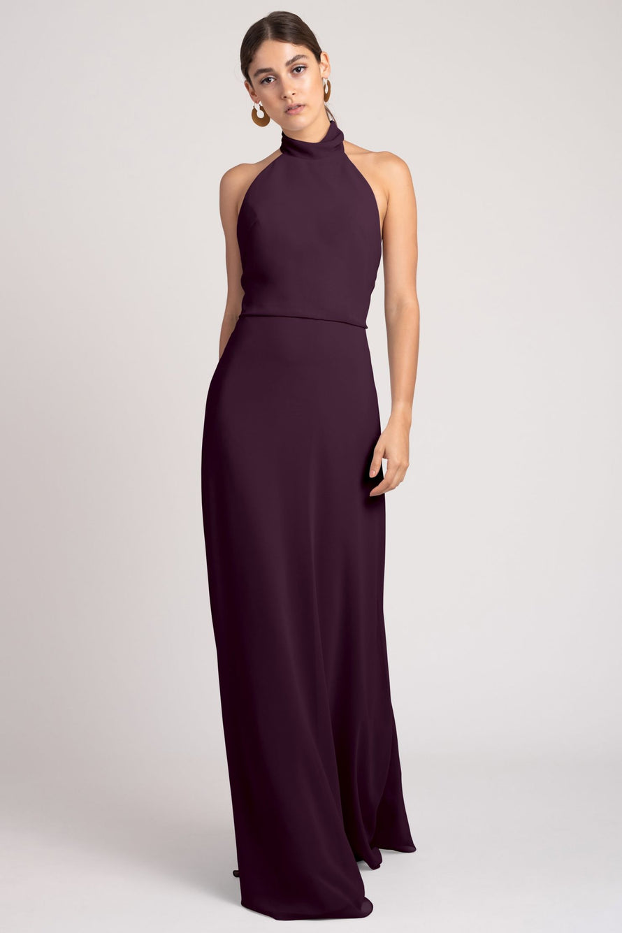 Jenny Yoo Bridesmaid Dress Brett_black_current