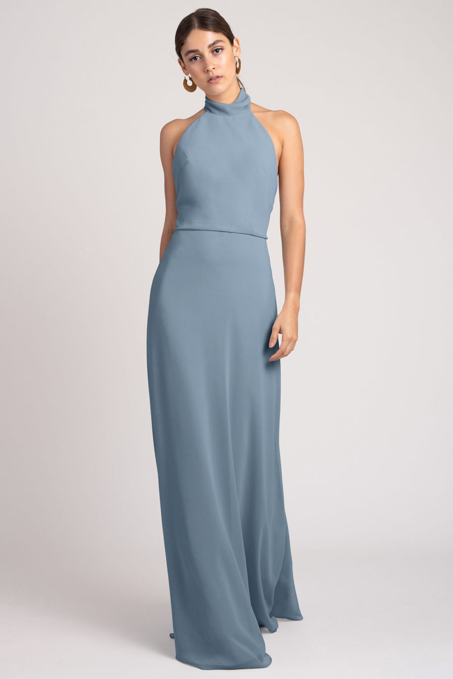 Jenny Yoo Bridesmaid Dress Brett_blue_bell