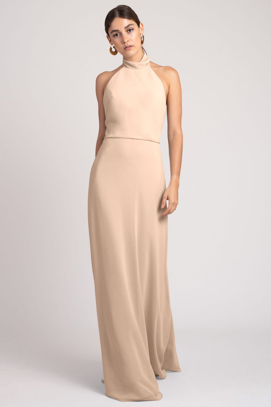 Jenny Yoo Bridesmaid Dress Brett_blush