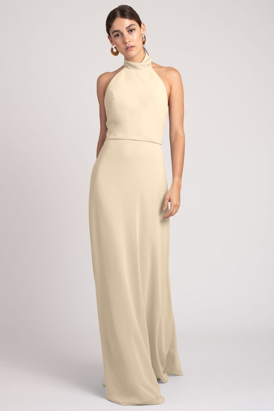 Jenny Yoo Bridesmaid Dress Brett_champagne