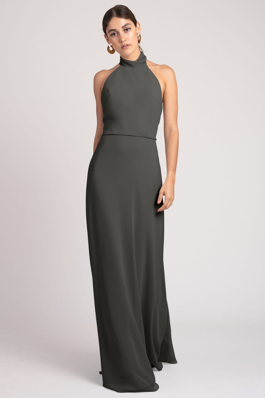 Jenny Yoo Bridesmaid Dress Brett_charcoal