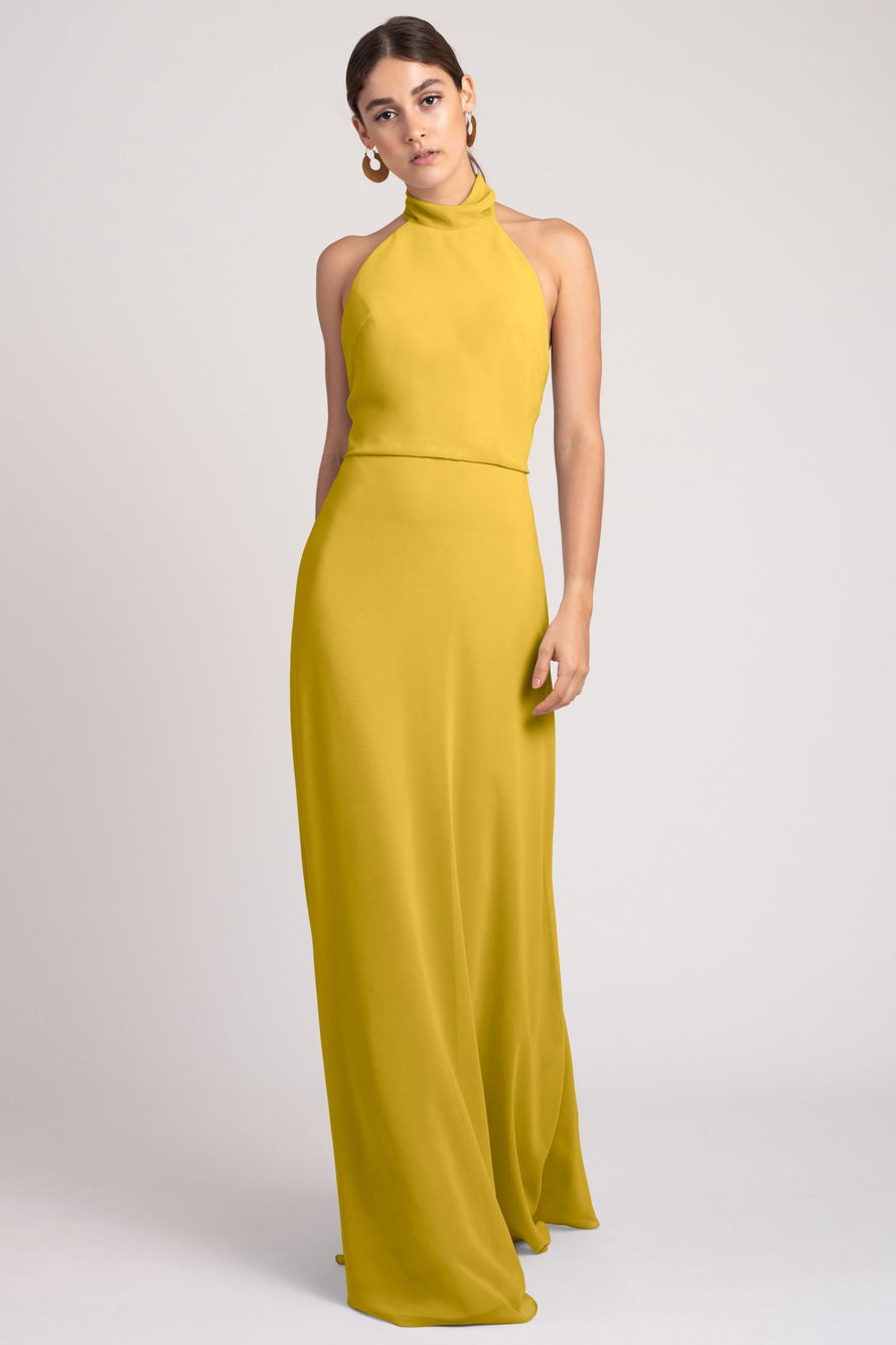Jenny Yoo Bridesmaid Dress Brett_chartreuse