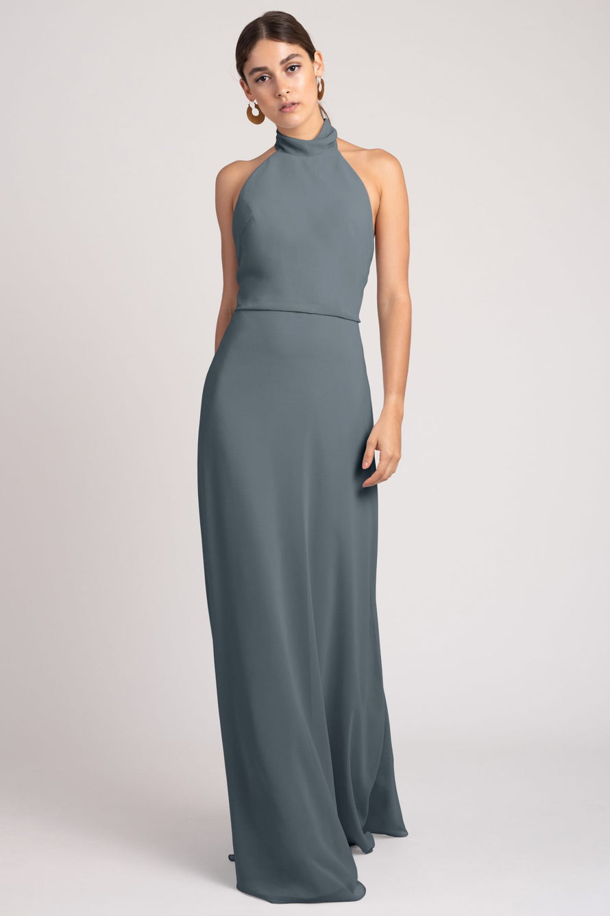 Jenny Yoo Bridesmaid Dress Brett_denmark_blue