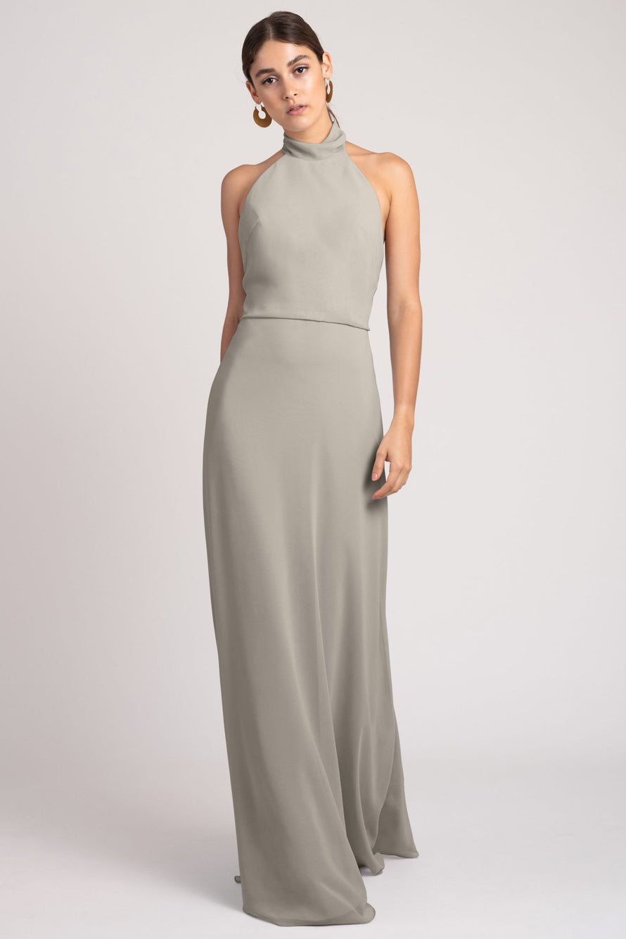 Jenny Yoo Bridesmaid Dress Brett_earl_grey