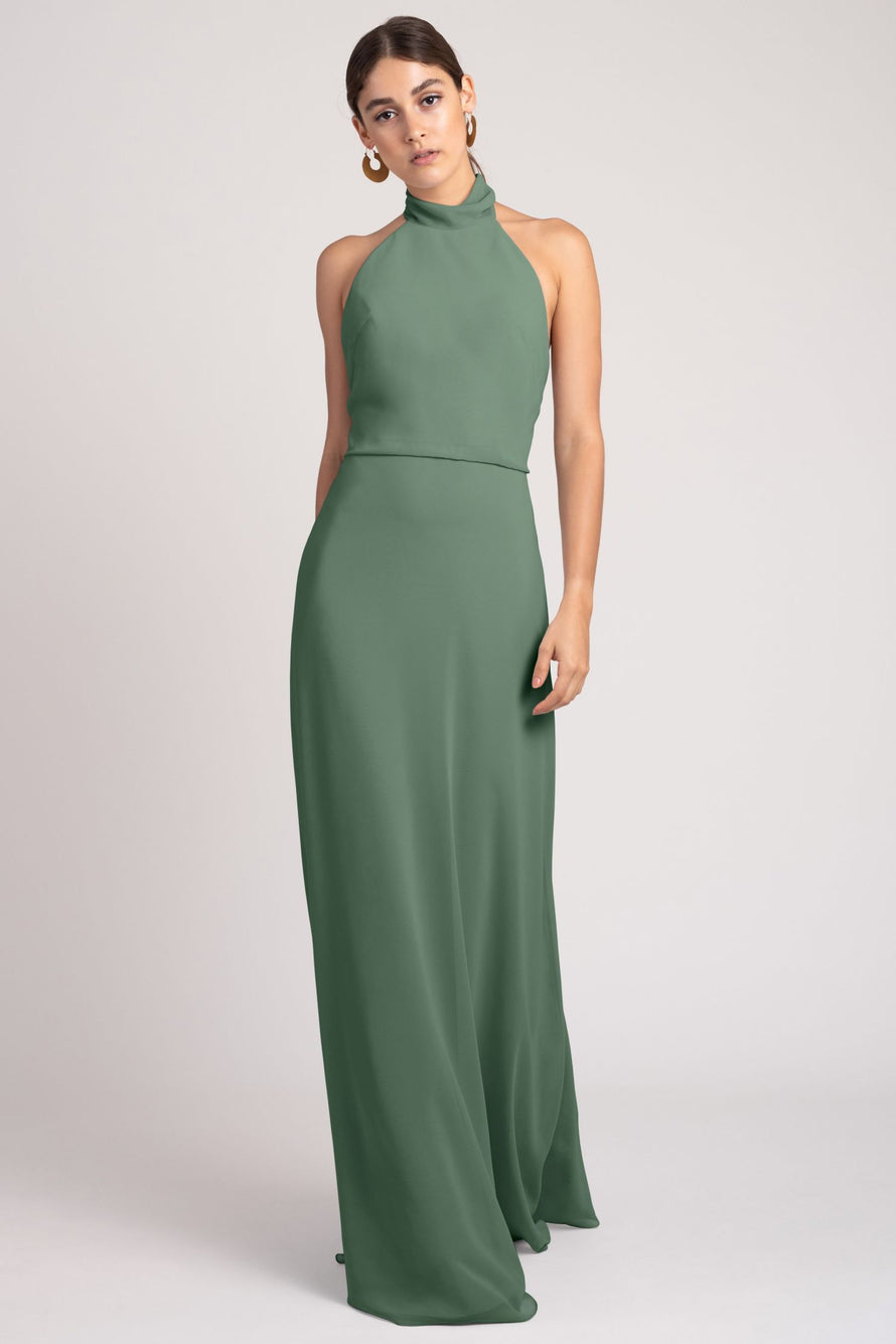 Jenny Yoo Bridesmaid Dress Brett_eucalyptus
