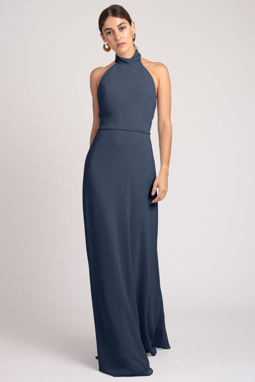Jenny Yoo Bridesmaid Dress Brett_evening_blue