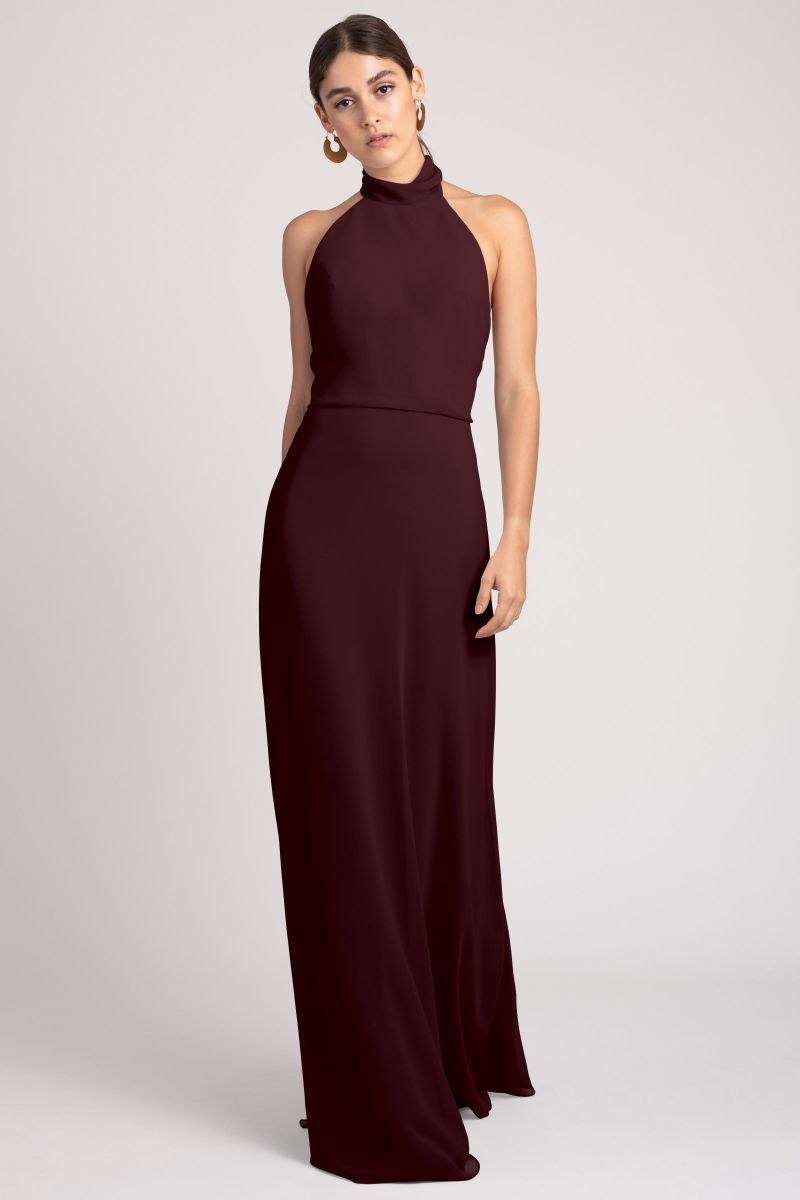 Mahogany-Jenny Yoo Bridesmaid Dress Brett