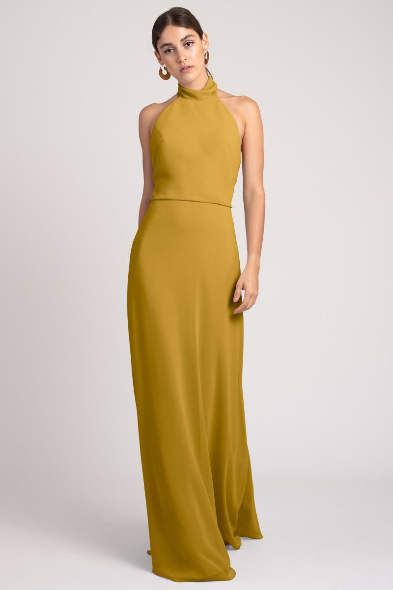 Marigold-Jenny Yoo Bridesmaid Dress Brett