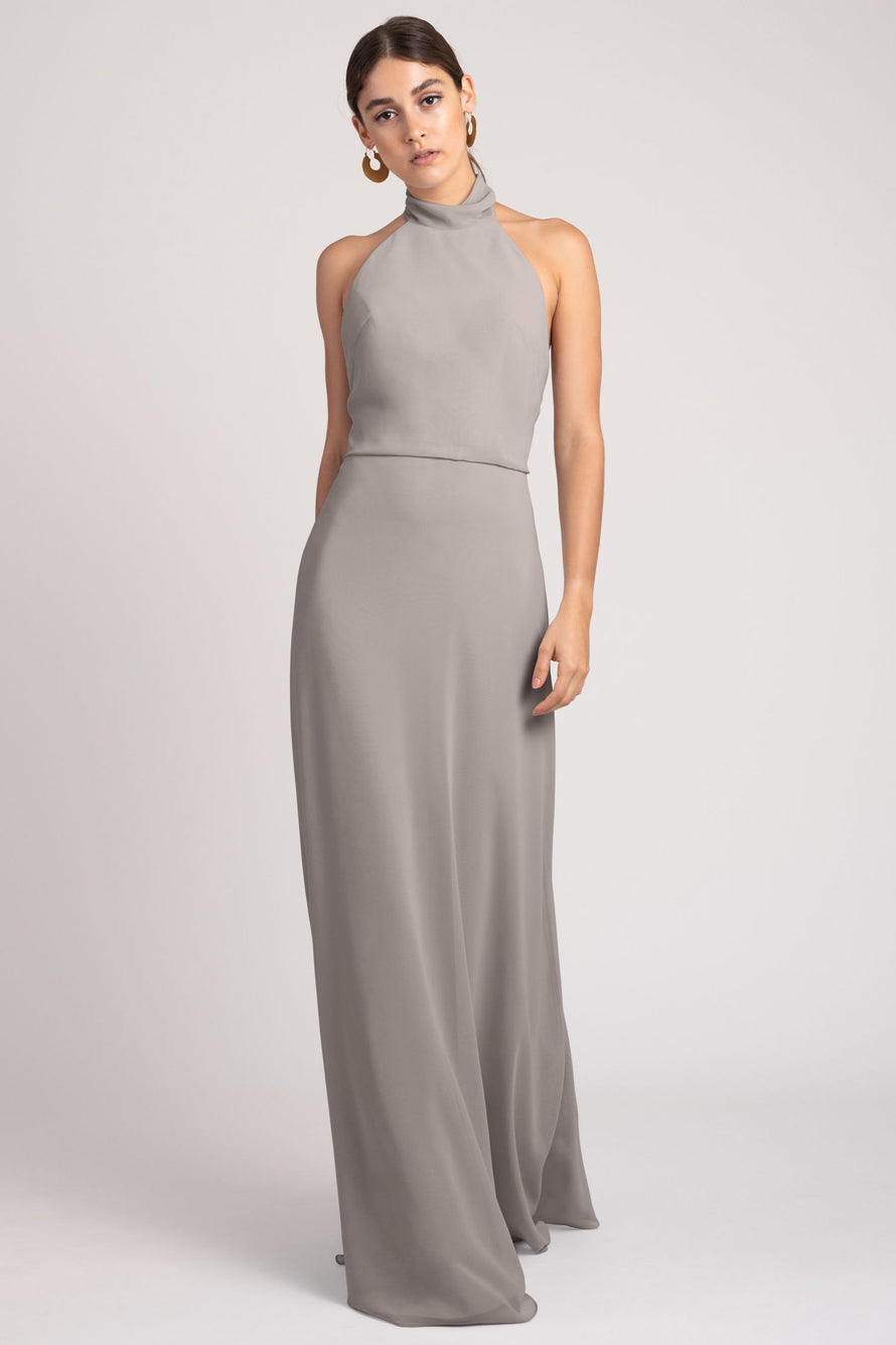 Jenny Yoo Bridesmaid Dress Brett_opal_grey
