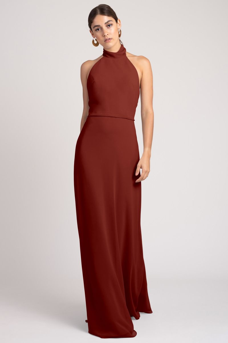 Rust-Jenny Yoo Bridesmaid Dress Brett