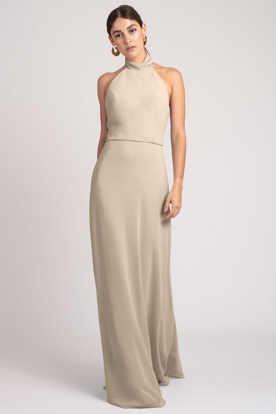 Jenny Yoo Bridesmaid Dress Brett_sand_dune