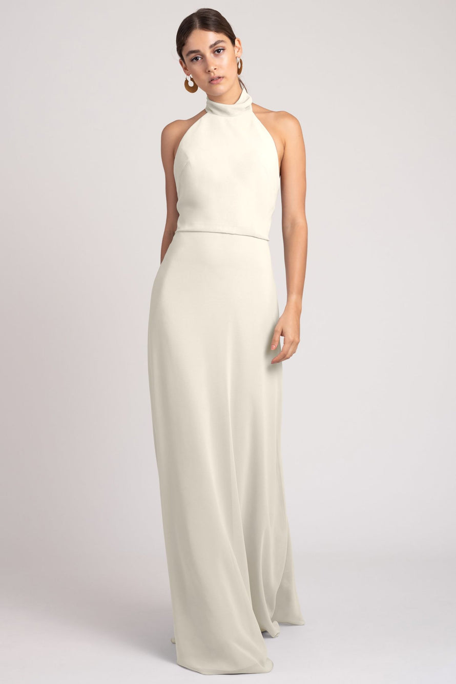 Jenny Yoo Bridesmaid Dress Brett_winter_white