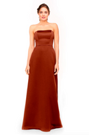 Bari Jay Bridesmaid Dress 1975 - Brick