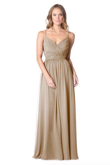 Bari Jay Bridesmaid Dress - 1606 IC-Bronze