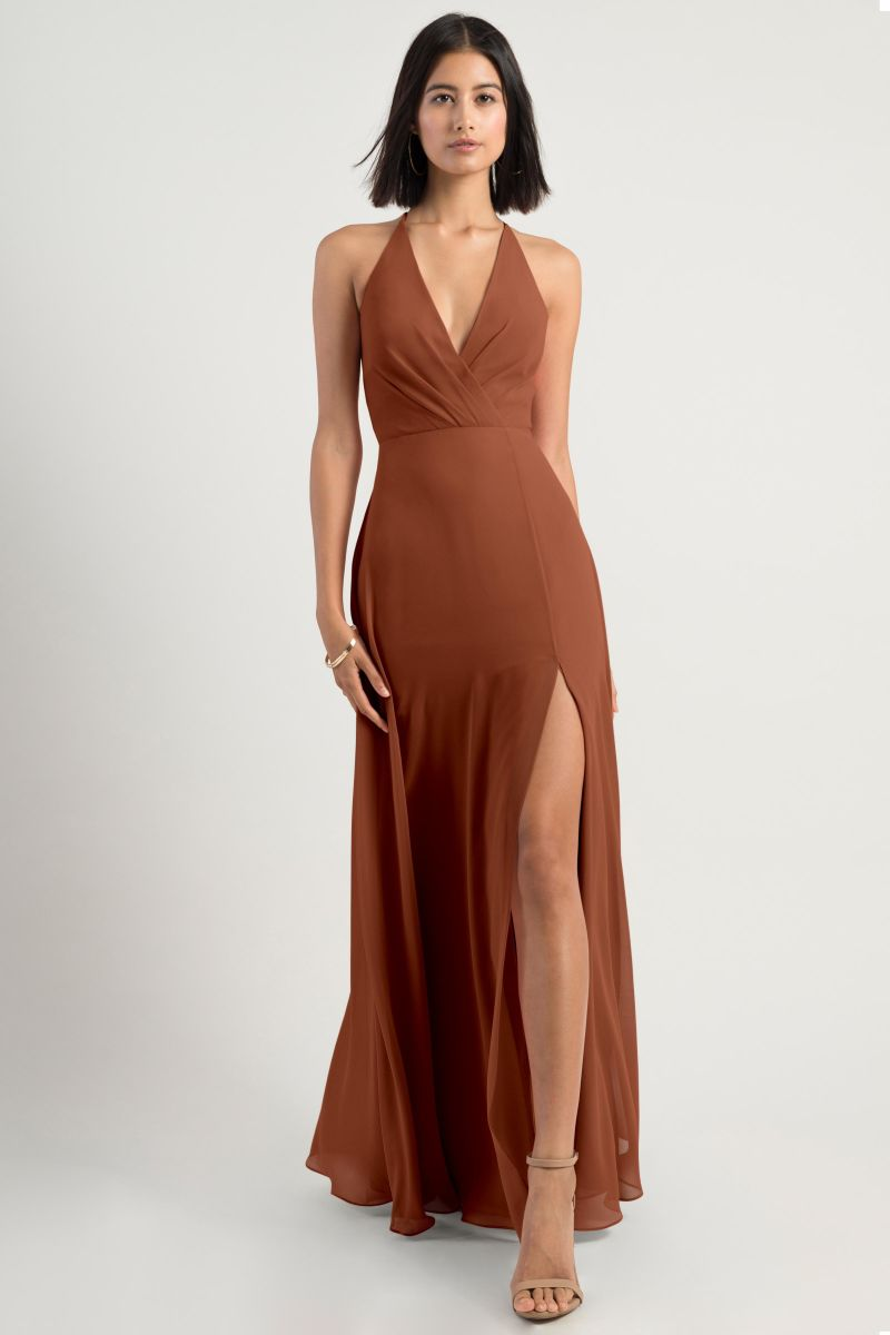 Terracotta Jenny Yoo Bridesmaid Dress Bryce