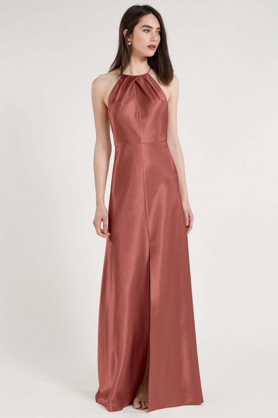 Jenny Yoo Long Bridesmaid Dress Cameron