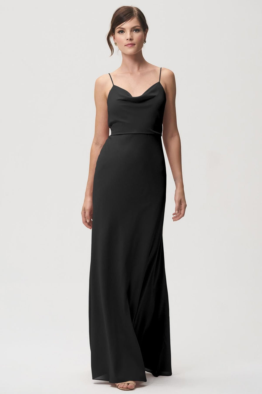 Jenny Yoo Bridesmaid Dress Capri_black