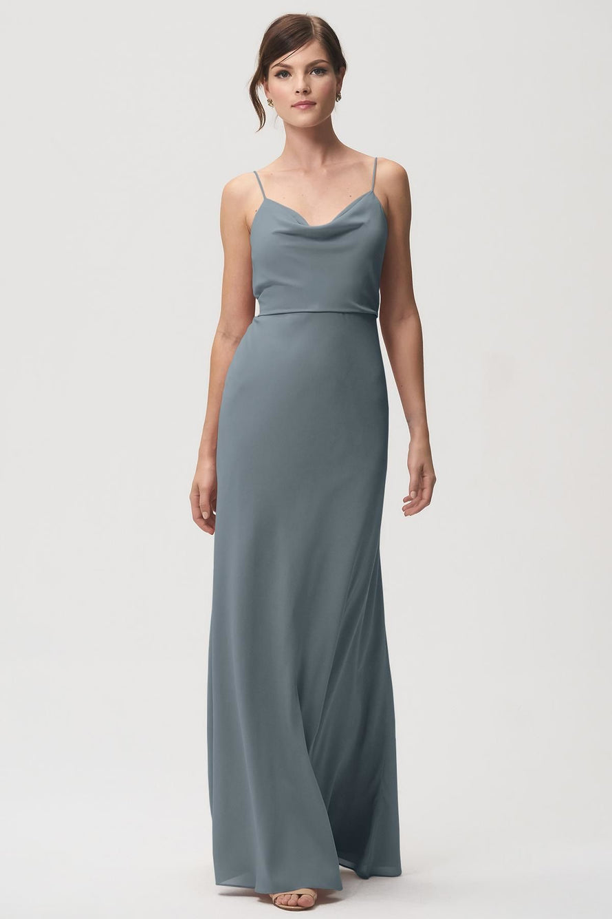 Jenny Yoo Bridesmaid Dress Capri_denmark_blue
